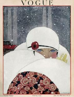 Vogue, January 1919 Illustrated by Georges Lepape
