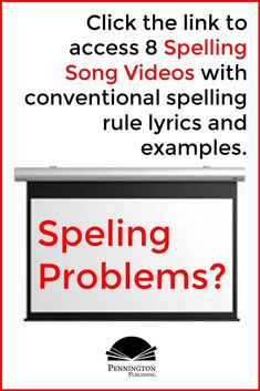 Get links to 8 fun videos, compliments of Pennington Publishing... your store for differentiated spelling instruction with both American and Canadian English spelling programs. Response To Intervention, Reading Assessment, Reading Intervention, Teaching Reading Strategies, Reading Fluency, Reading Resources, Spelling Rules, Spelling Lists, Common Core Vocabulary