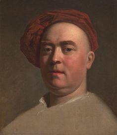 Attributed to Thomas Hudson, 1701–1779, British, Alexander van Aken, ca. 1770, Oil on canvas, Yale Center for British Art, Paul Mellon Fund