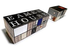 Tours of the Eames House and Studio require a sizable donation to the Eames Foundation, but you can bring the Case Study No. 8 house to the convenience of your coffee table.