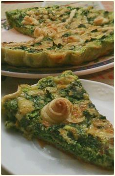 PASTEL DE ESPINACAS CON THERMOMIX Quiches, Cocina Natural, Salad Recipes, Healthy Recipes, Salty Foods, Savoury Dishes, Everyday Food, Easy Cooking, Finger Foods