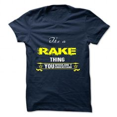RAKE T Shirts, Hoodies. Check price ==► https://www.sunfrog.com/Camping/RAKE-125864746-Guys.html?41382