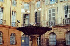 the best fountain in Aix-en-Provence / © Diego Angelucci