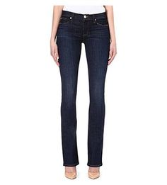 check out these Elle Baby bootcut mid-rise jeans #covetme #Hudsonjeans #denim #fashion #jeans #bootcut #designer