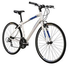 Diamondback Bicycles 2015 Insight 1 Complete Performance Hybrid Bike, 20-Inch/Large, Matte White