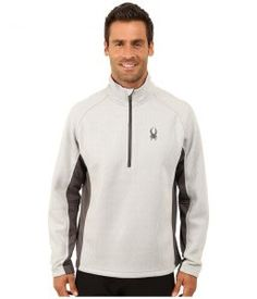 Spyder Outbound Half Zip Mid Weight Core Sweater (Cirrus/Polar/Polar) Men's Sweater