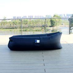 Chaise Sofa Out Sleeping Bag cm Airbags Lazy Sofa Inflatable Air Sofa Bed Lazy Bones Beach Lounge