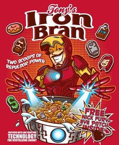 Artists Bamboota and Elliot Fernandez reimagined some of Marvel's finest characters as delicious cereals.