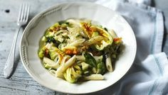 BBC - Food - Recipes : Penne with courgette flowers