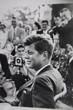 """""""A man may die, nations may rise and fall, but an idea lives on."""" - John F. Kennedy. °"""