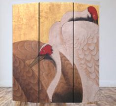 Divisori per ambienti - Separè Paraventi Pannelli d'arredo dipinti a mano - un…