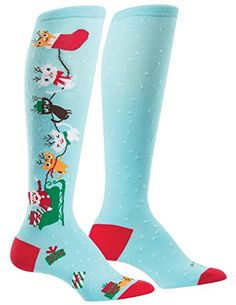 Sock It To Me Womens Funky Knee High Socks Taming of the Shoe