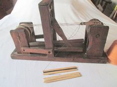 Tape Loom antique 2 treddle2 harnesslittle beater by marthaweaves, $300.00