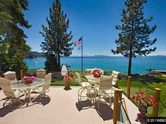Can't wait to have a view like this & have our dream house on the lake.  Two year goal!
