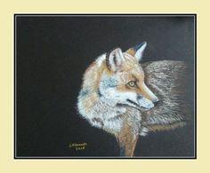 Fox Print, Giclee Print, Wildlife, Etsy Shop, The Originals, Painting, Animals, Image, Art