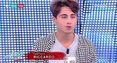 Amici Casting: Riccardo Marcuzzo canta per Aurora Ramazzotti