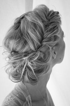 I want this hair do for your wedding, @Brooklyn Becher