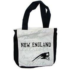 Official New England Patriots ProShop - Patriots Reverse Applique Tote #Patriots