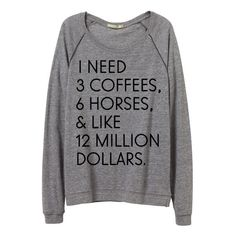 """""""I Need"""" Pullover ($50) ❤ liked on Polyvore featuring grey and sweaters"""
