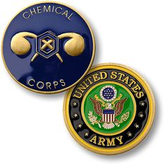 U s Army Chemical Corps Challenge Coin | eBay