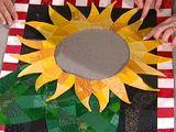 Mosaic Sunflower Quilt, Part 1 - HGTV video
