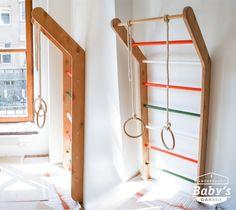 Детская шведская стенка по эскизу клиента. Изготавливаем мебель согласно ваших пожеланий и эскизов, а так же работаем с дизайнерами над всем комплексом детских комнат.