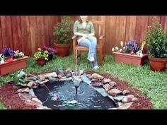 How to Build a Small Pond - YouTube