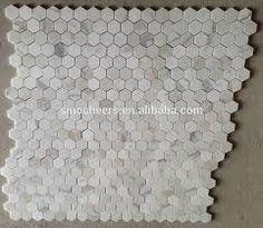 Afbeeldingsresultaat voor zeshoekige tegels keuken