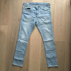 Men's Levi 510 Men's Levi 510 light blue Levis Jeans Skinny