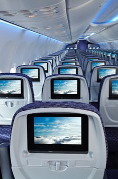 Boeing NG Sky Interior 737-800 #copaairlines www.pinkcarryon.com