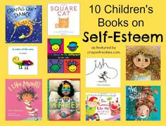 Crayon Freckles: 10 children's picture books on self-esteem