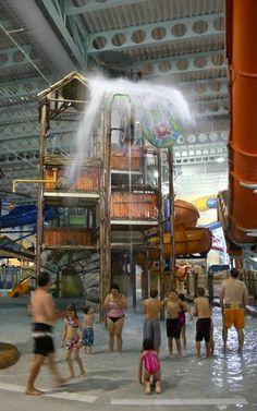 Kalahari Resorts in Ohio...looks like fun!