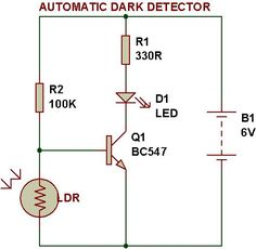 Dark/Light sensor using transistor | BUILD CIRCUIT