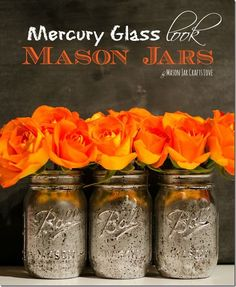 Mercury Glass How To