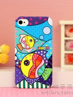Cartoon Pattern Protective Case For IPhone