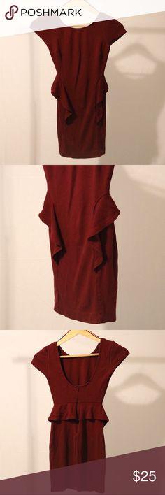 ZARA Peplum Dress. Bodycon. Size XS. Best seller from ZARA TRF Collection. ZARA Peplum Dress. Bodycon. Size XS. Zara Dresses Mini