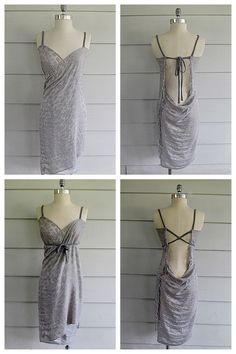DIY Refashioned Scarf to Dress or Beach Cover Up from Wobisobi here. She was inspired by the Victoria's Secret coverup. *For other Victoria's Secret beach cover up tutorials go here and here (sew and...
