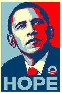 Ferey's campaign poster for Barack Obama became a pop culture symbol.