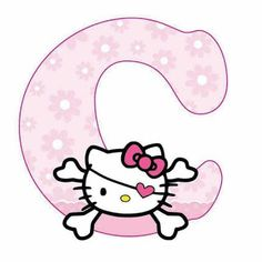Escuela infantil castillo de Blanca: ALFABETO HELLO KITTY Hello Kitty Theme Party, Hello Kitty Themes, Hello Kitty Birthday, Cat Birthday, Alphabet Letters Design, Alphabet Templates, Hello Kitty Pictures, Kitty Images, Hello Kitty Iphone Wallpaper