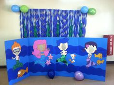 Cached Bubble guppies photo booth
