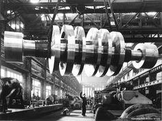 Jahre Krupp steam turbine runner