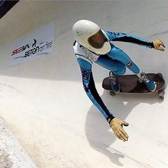 Can your trucks hold a line like this? surfing the wall at - a race down a bobsleigh track. Sick photo by Bruno Callens, taking to a whole new level! Bobsleigh, Sick, Hold On, Surfing, Racing, Trucks, Wall, Instagram Posts, Running