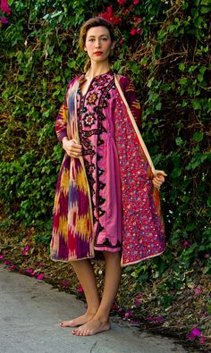 Gypset Multicolored Afghanistan Gypsy Coat by TavinShop on Etsy