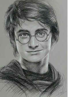 Drawing Portraits - Portrait de Daniel Radcliffe, alias Harry Potter Discover The Secrets Of Drawing Realistic Pencil Portraits.Let Me Show You How You Too Can Draw Realistic Pencil Portraits With My Truly Step-by-Step Guide. Harry Potter Fan Art, Harry Potter Kunst, Harry Potter Portraits, Harry Potter Sketch, Harry Potter Poster, Harry Potter Drawings, Harry Potter Tumblr, Harry Potter Characters, Art Drawings Sketches