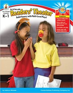 This teacher resource includes a selection of cross-curricular plays and levelled roles to support instruction in Readers' Theatre from kindergarten to grade one. This resource is helpful for teachers interested in engaging early readers in repeated oral reading practice to support fluency and expression since it provides basic information on how to stage, perform, critique and differentiate classroom plays.