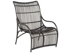 Wicker Chair, Charcoal Gray Cape Large Lounge Chair, Outdoor Chair Unique look of wicker furniture will add style and beauty to your outdoor setting Arm handles are offered for comfort and style Patio Lounge Chairs, Patio Seating, Outdoor Chairs, Outdoor Decor, Wicker Furniture, Outdoor Furniture, Outdoor Brands, Chair Types, Outdoor Settings