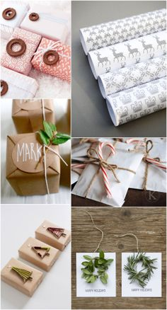 26 of my favourite DIY wrapping ideas and free printables - fun ways to wrap a present this year | MollyMoo