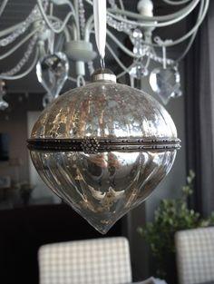Glass ornament Glass Ornaments, Ceiling Lights, Lighting, Pendant, Christmas, Home Decor, Xmas, Decoration Home, Room Decor