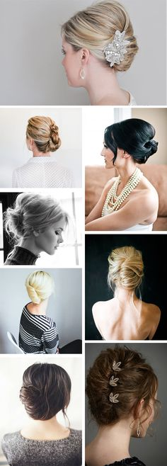 how-to-do-hair-in-a-classic-french-twist - Fab New Hairstyle 2 Easy Updos For Long Hair, Haircuts For Long Hair, Wedding Hair And Makeup, Wedding Beauty, Wedding Nails, Work Hairstyles, Wedding Hairstyles, French Twist Hair, French Twists