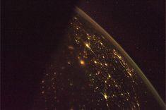 Earth at night.